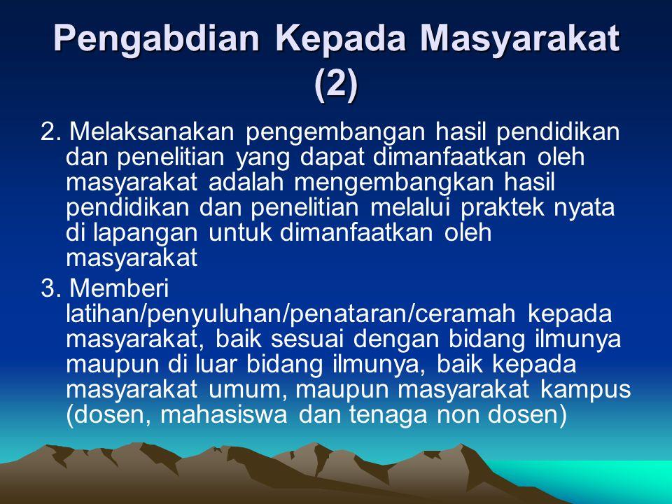 Pengabdian Kepada Masyarakat (2)
