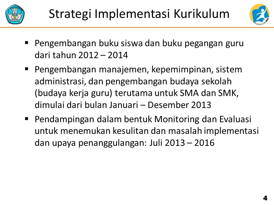 Strategi Implementasi Kurikulum
