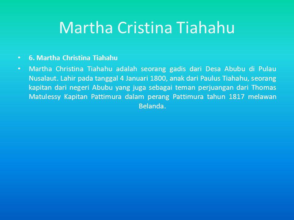 Martha Cristina Tiahahu