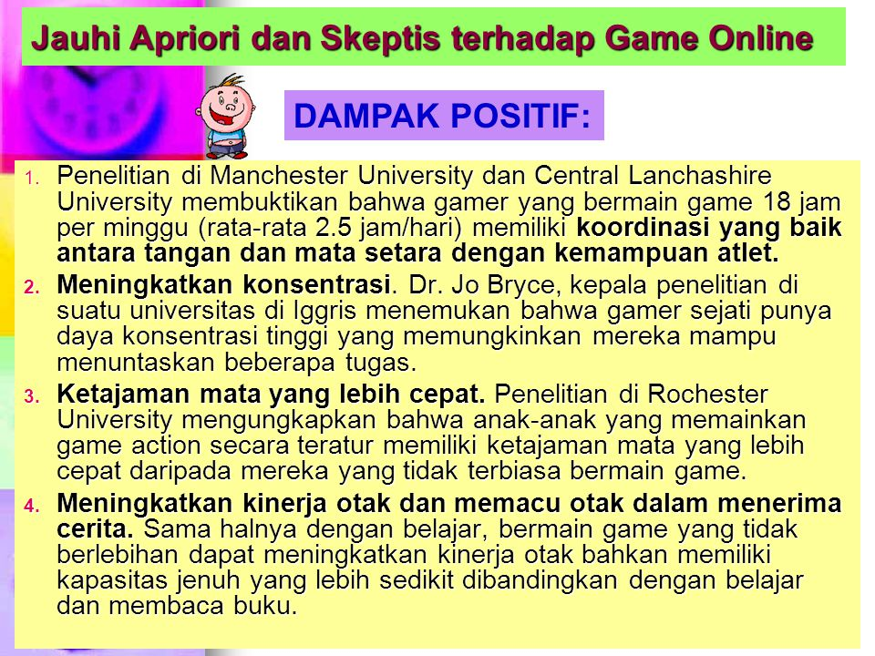 Jauhi Apriori dan Skeptis terhadap Game Online