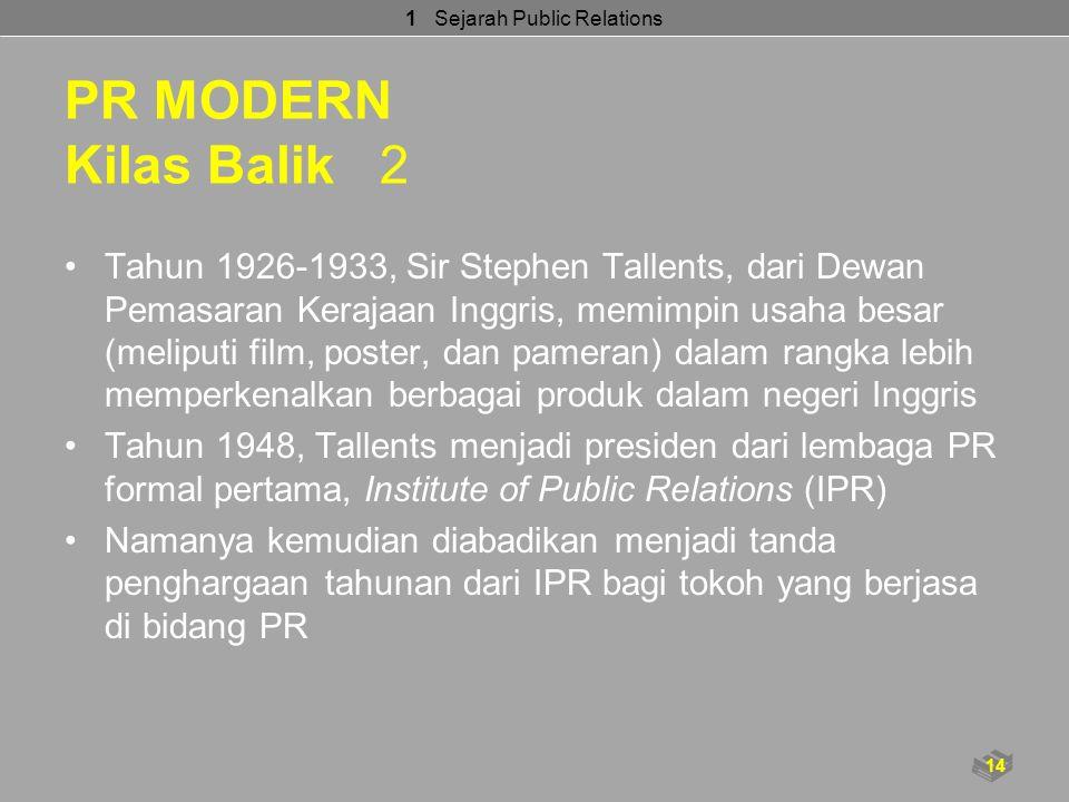 1 Sejarah Public Relations