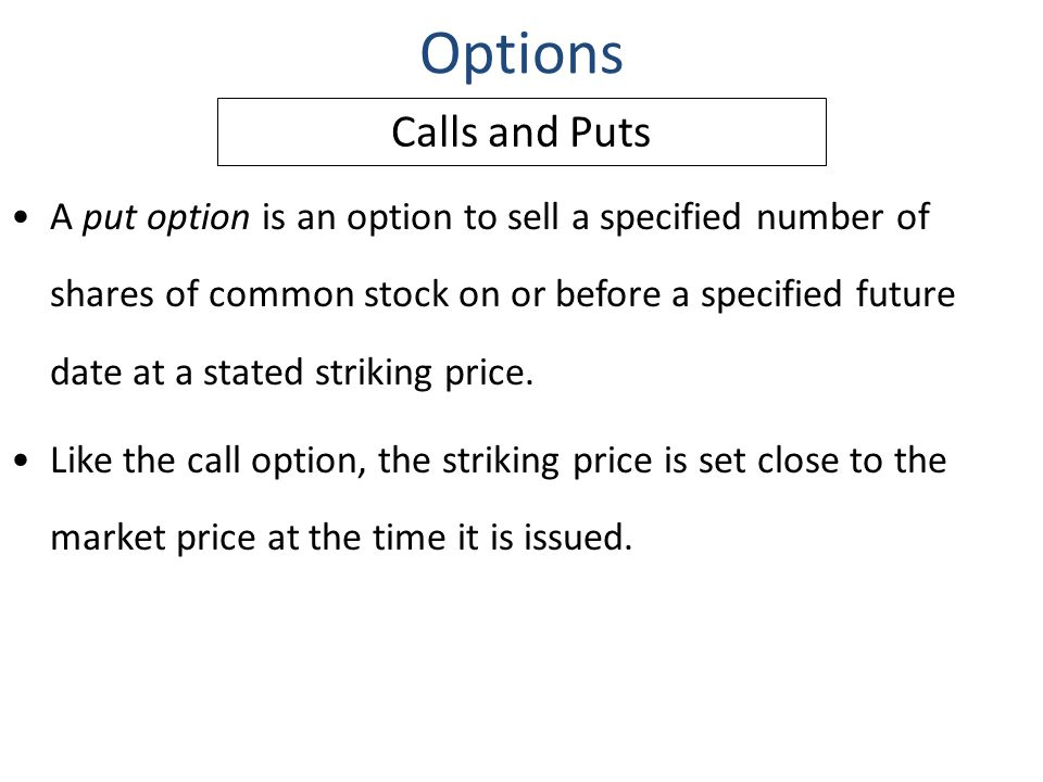 Call options montreal stock exchange