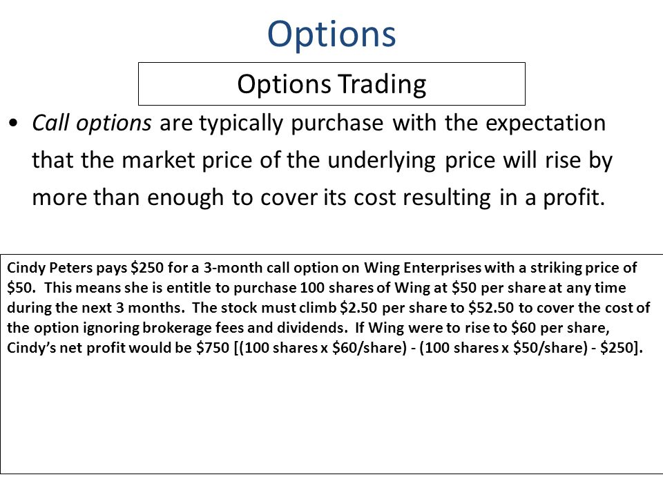 Options trading 100 shares
