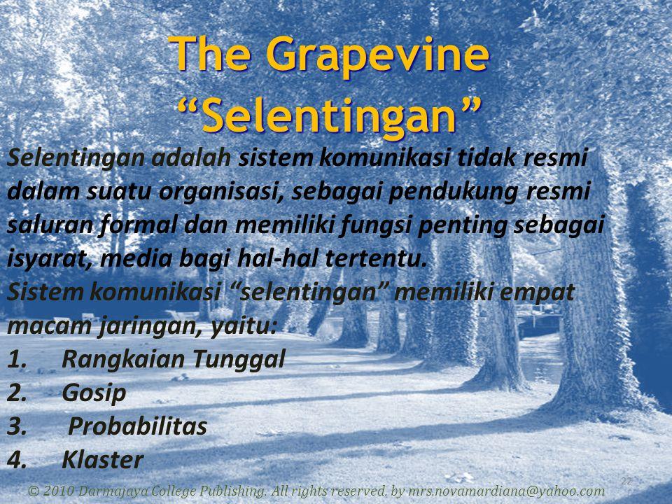 The Grapevine Selentingan