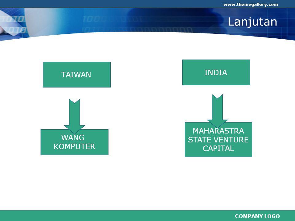Lanjutan . INDIA TAIWAN MAHARASTRA STATE VENTURE CAPITAL WANG KOMPUTER
