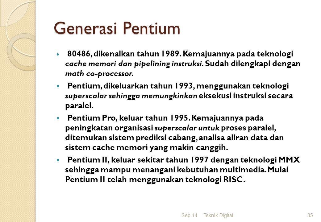 Generasi Pentium
