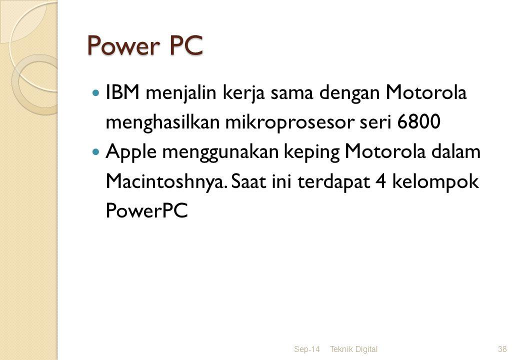Power PC IBM menjalin kerja sama dengan Motorola