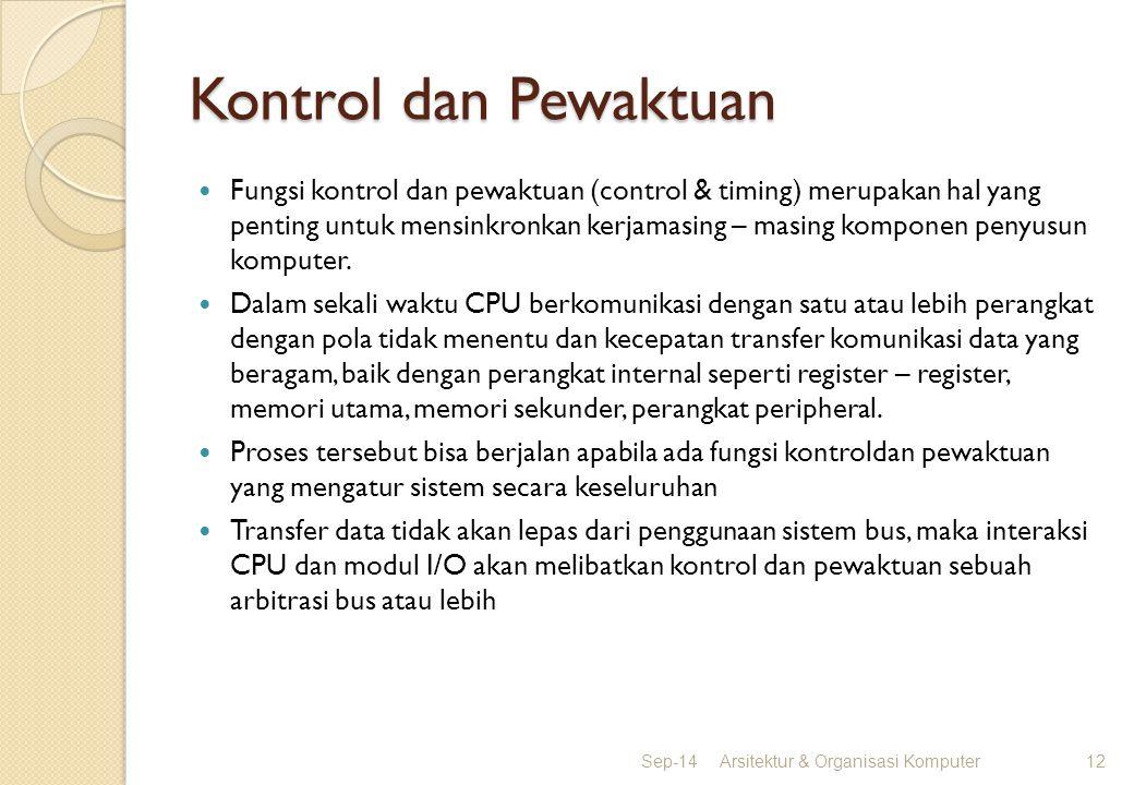 Kontrol dan Pewaktuan