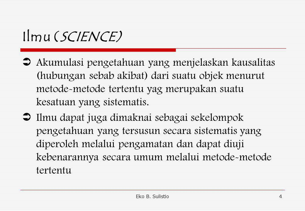 Ilmu (SCIENCE)