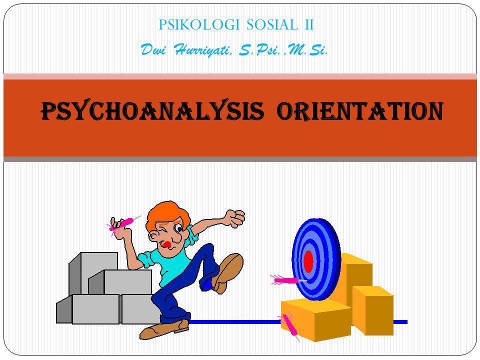 Pyschoanalysis Orientation_Psi.Sosial II