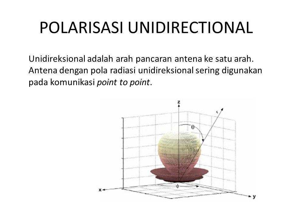 POLARISASI UNIDIRECTIONAL