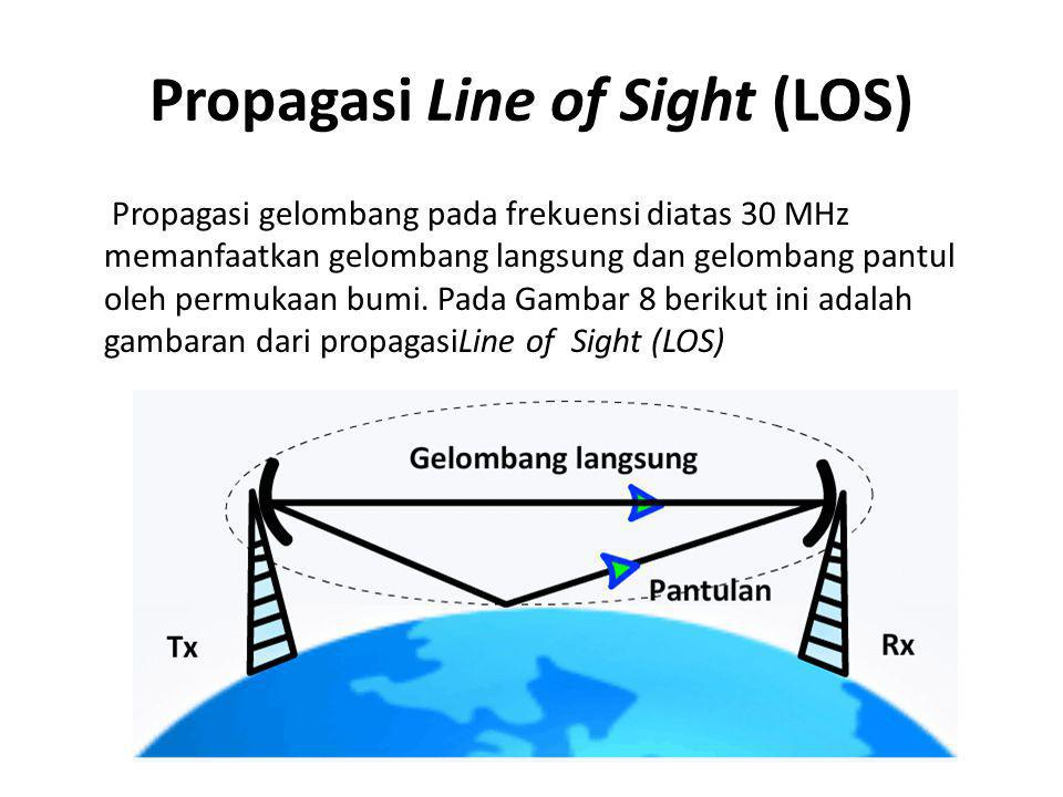 Propagasi Line of Sight (LOS)