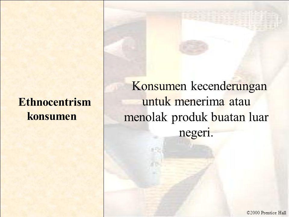Ethnocentrism konsumen