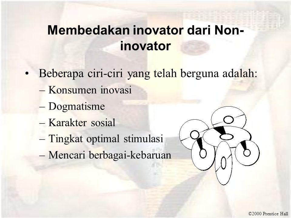 Membedakan inovator dari Non-inovator
