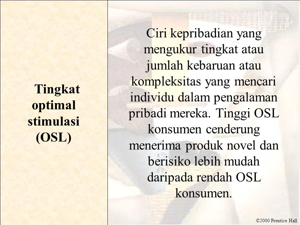 Tingkat optimal stimulasi (OSL)