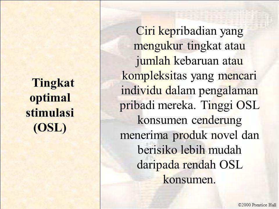 Tingkat optimal stimulasi (OSL)