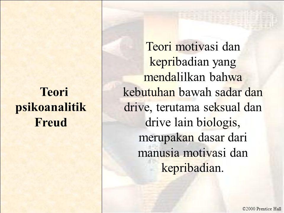 Teori psikoanalitik Freud