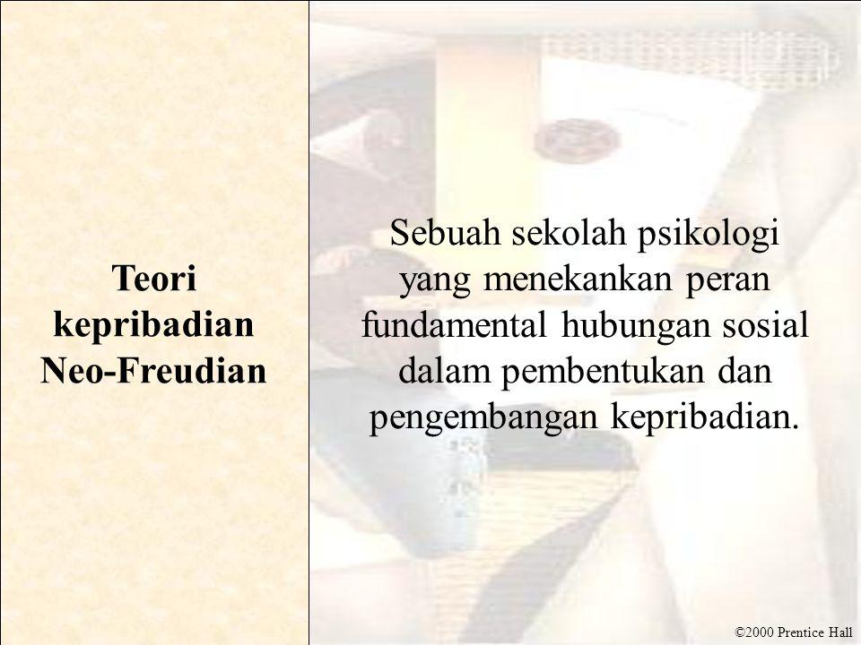 Teori kepribadian Neo-Freudian