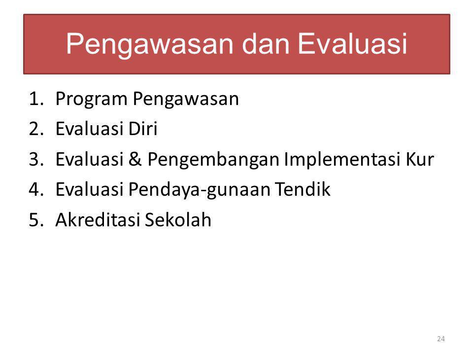Pengawasan dan Evaluasi