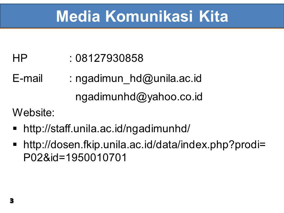 Media Komunikasi Kita HP : 08127930858