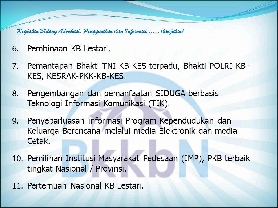 Pertemuan Nasional KB Lestari.
