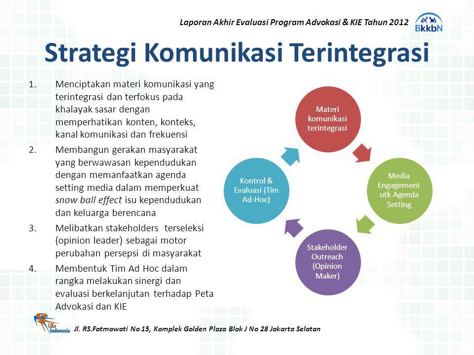 Strategi Komunikasi Terintegrasi
