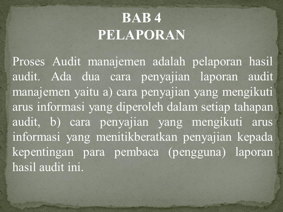BAB 4 PELAPORAN.