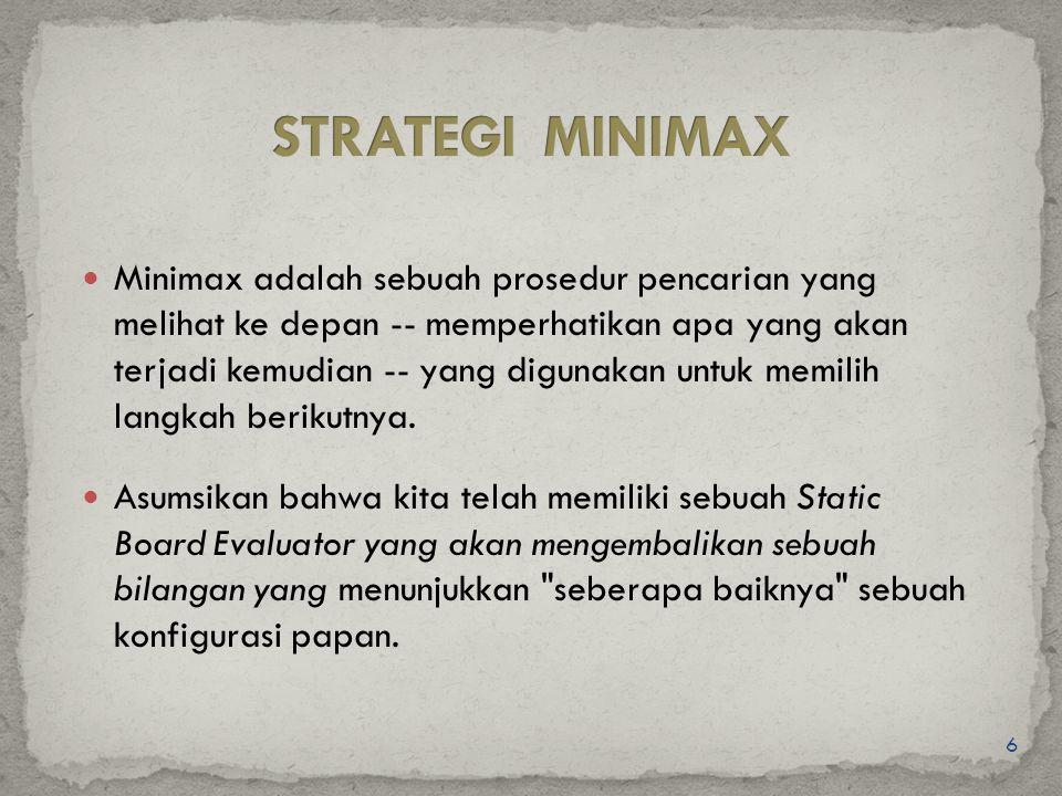 STRATEGI MINIMAX