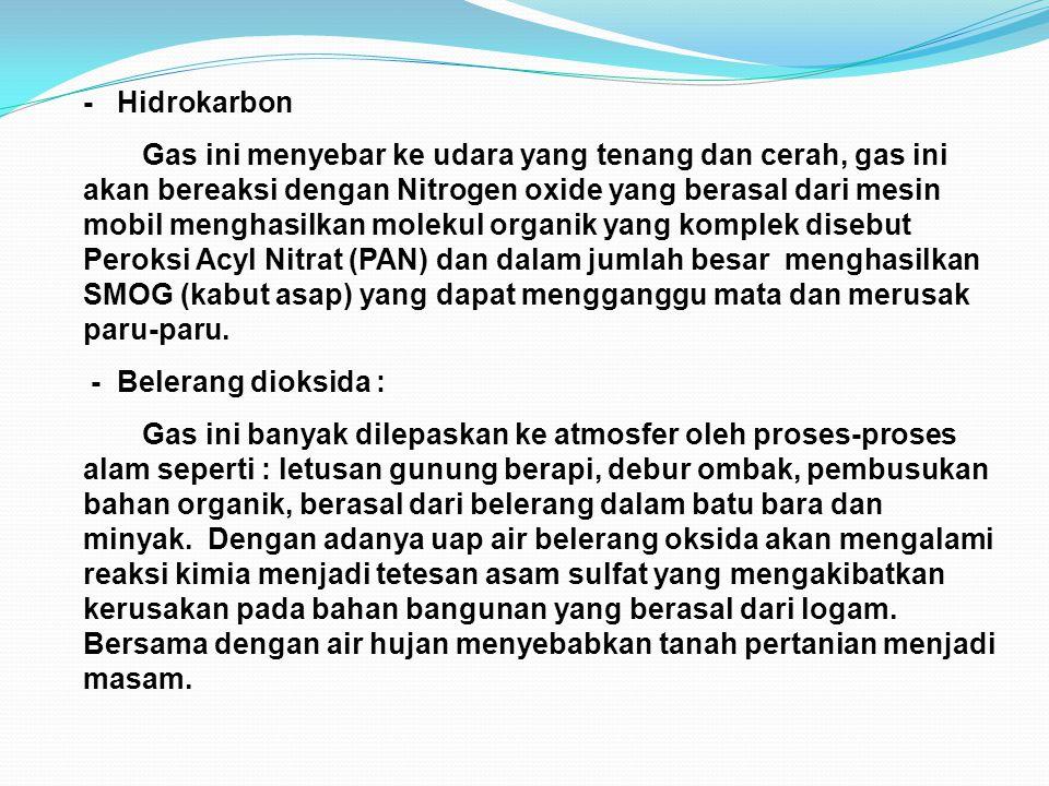 - Hidrokarbon