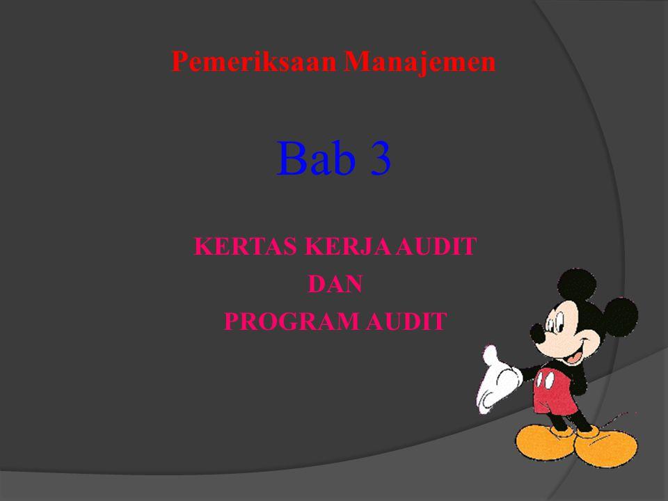 Pemeriksaan Manajemen