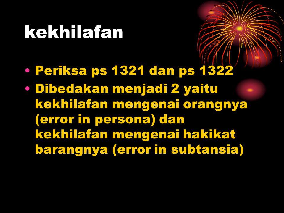 kekhilafan Periksa ps 1321 dan ps 1322