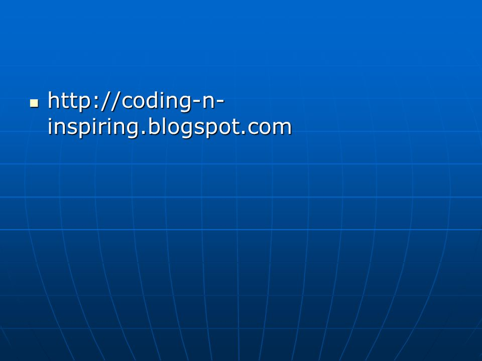 http://coding-n-inspiring.blogspot.com