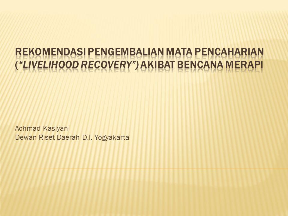 Achmad Kasiyani Dewan Riset Daerah D.I. Yogyakarta