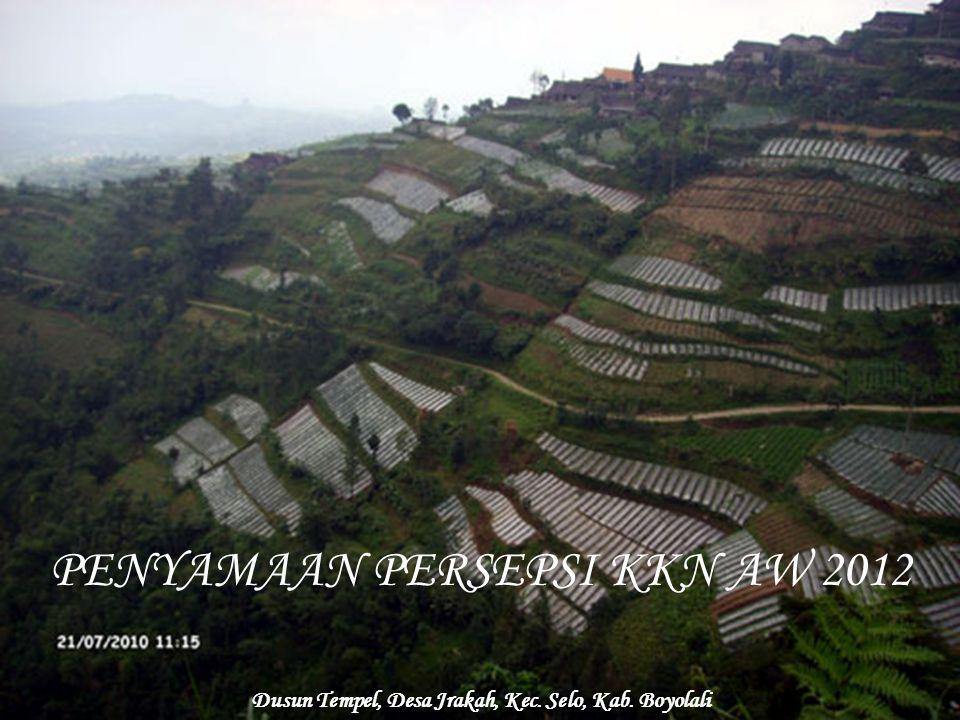 Dusun Tempel, Desa Jrakah, Kec. Selo, Kab. Boyolali
