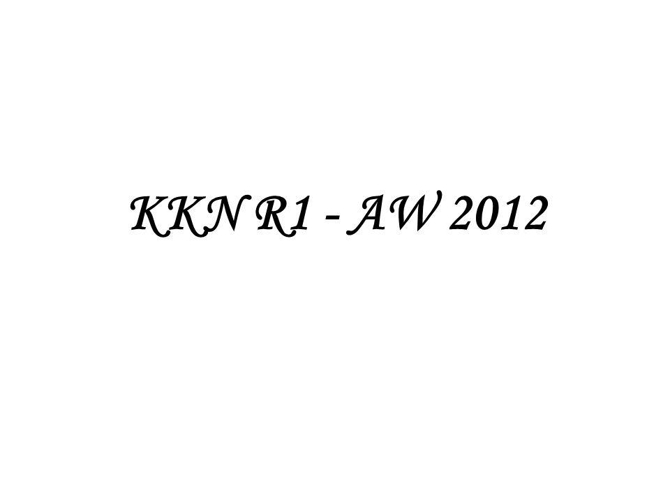KKN R1 - AW 2012