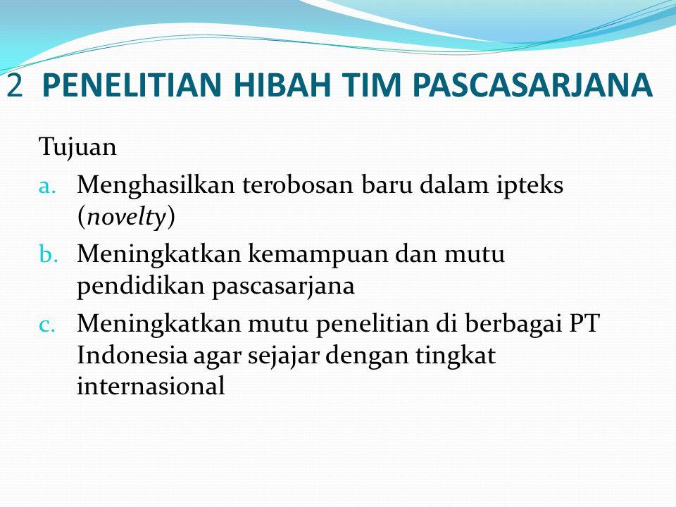 2 PENELITIAN HIBAH TIM PASCASARJANA