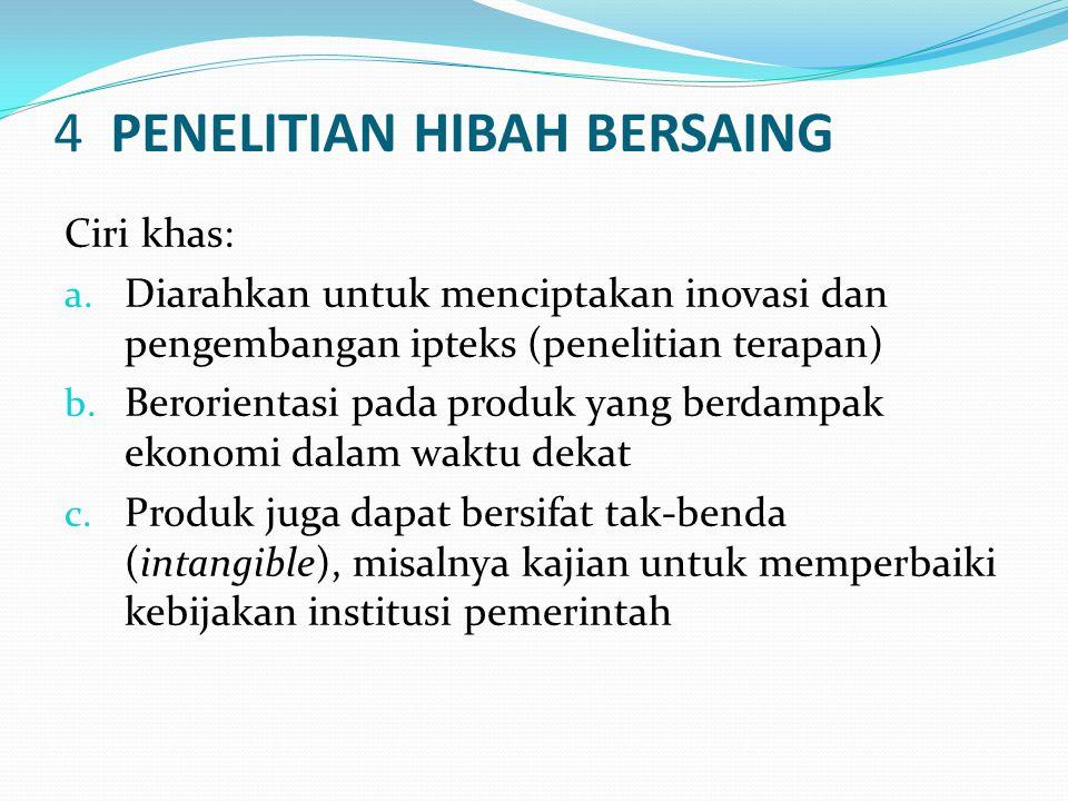 4 PENELITIAN HIBAH BERSAING