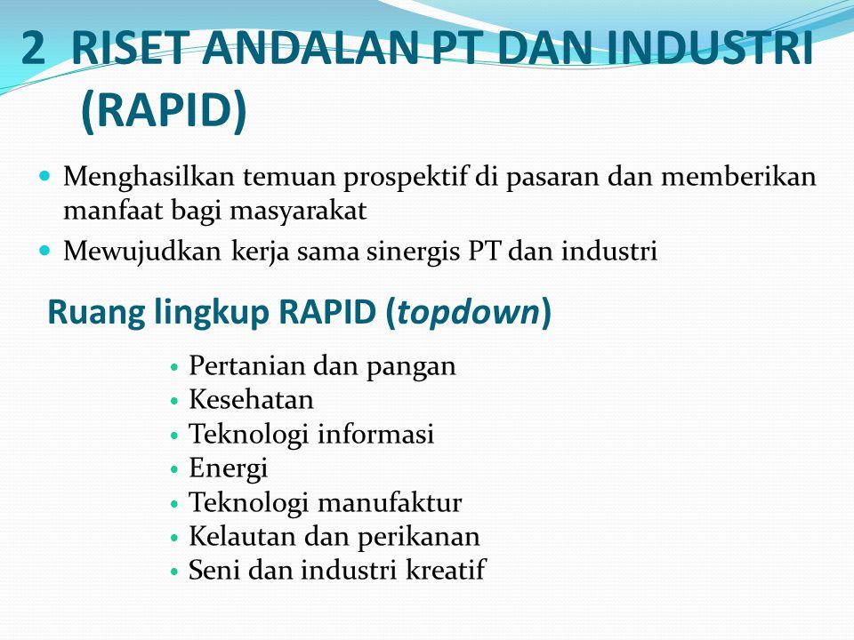 2 RISET ANDALAN PT DAN INDUSTRI (RAPID)
