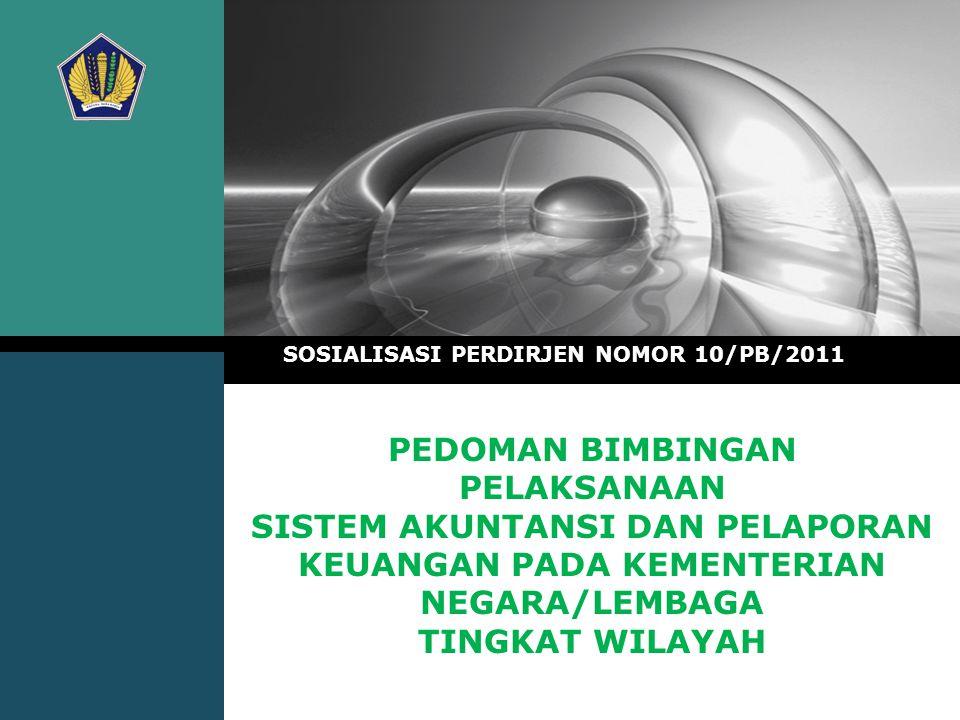 SOSIALISASI PERDIRJEN NOMOR 10/PB/2011