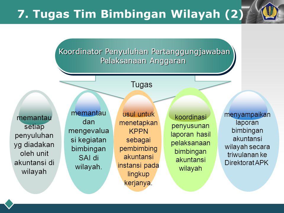 7. Tugas Tim Bimbingan Wilayah (2)
