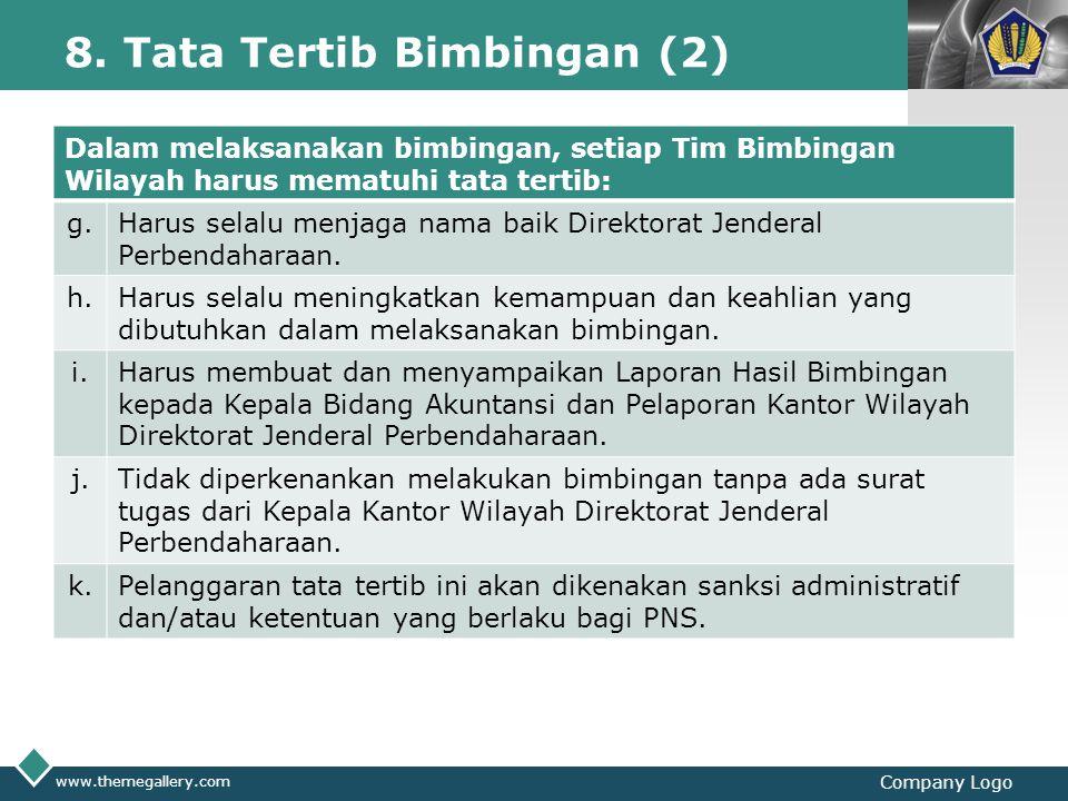 8. Tata Tertib Bimbingan (2)