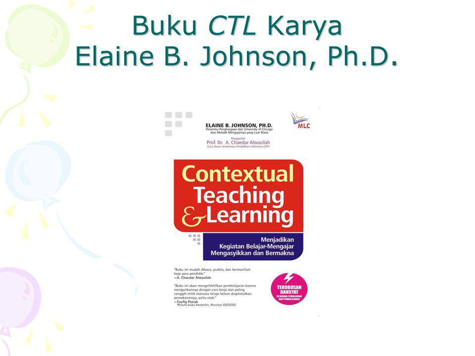 Buku CTL Karya Elaine B. Johnson, Ph.D.