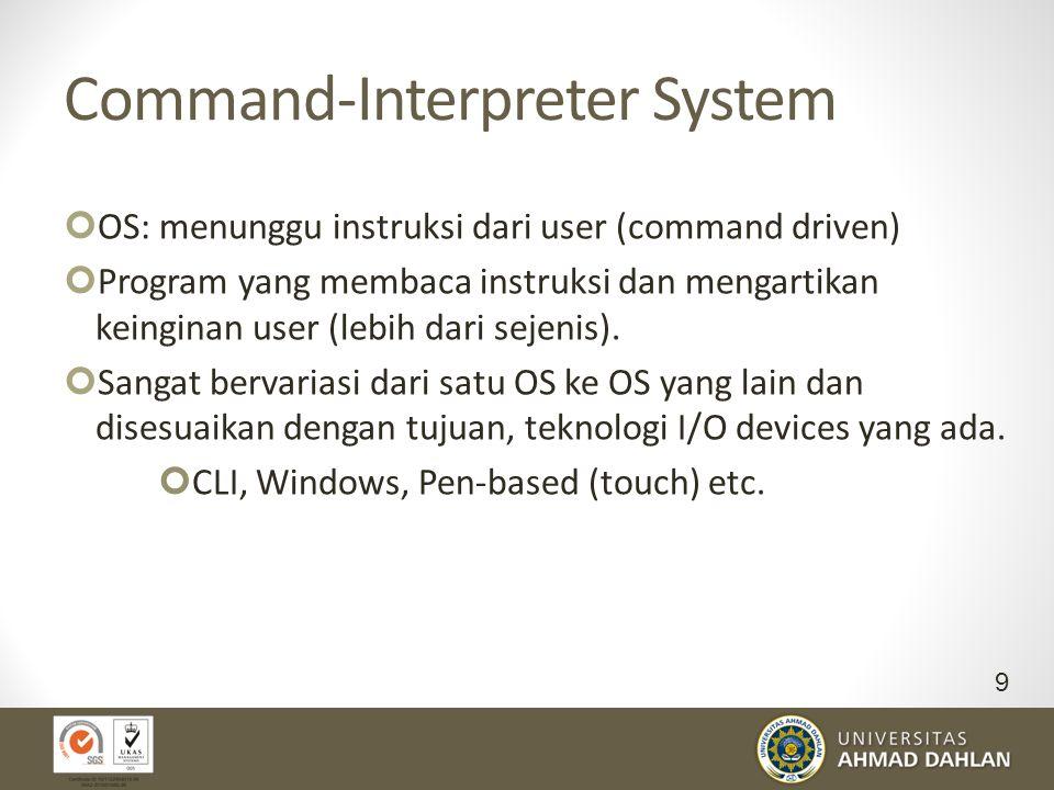 Command-Interpreter System