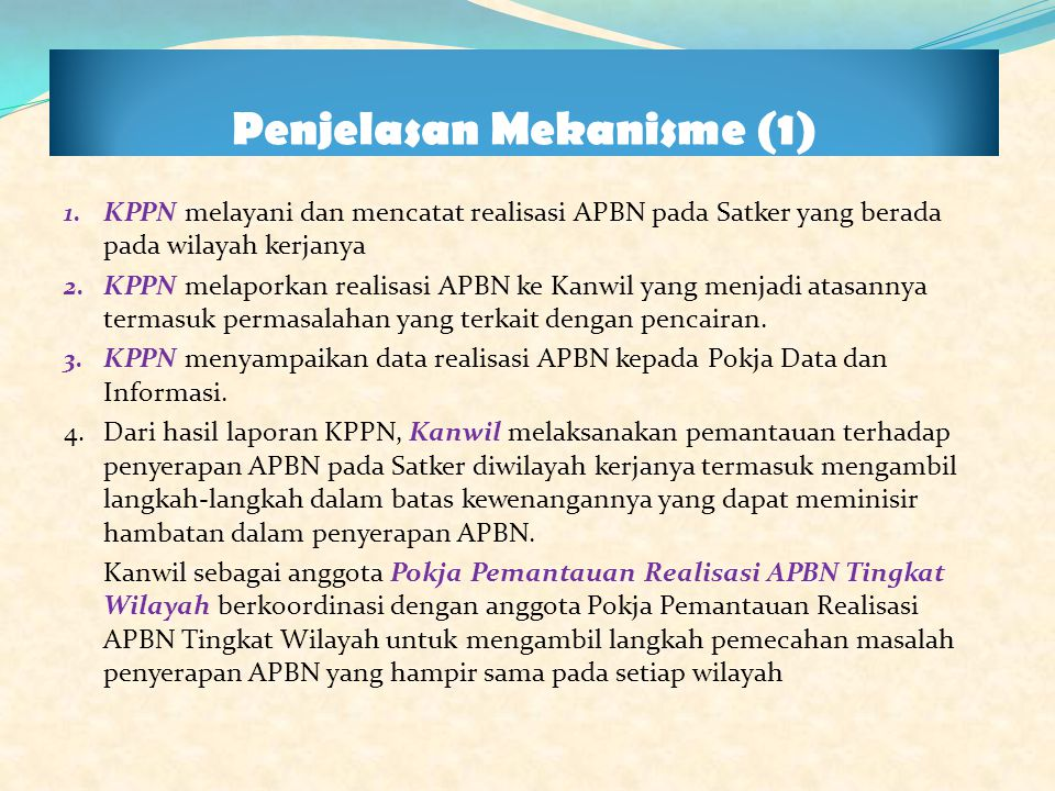 Penjelasan Mekanisme (1)