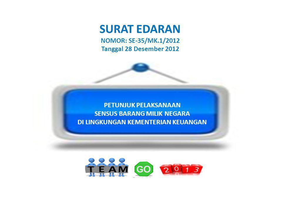 SURAT EDARAN NOMOR: SE-35/MK.1/2012