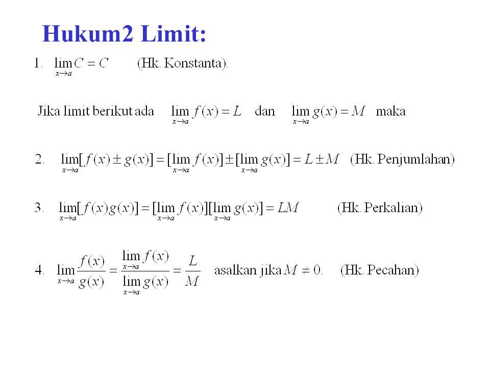 Hukum2 Limit: