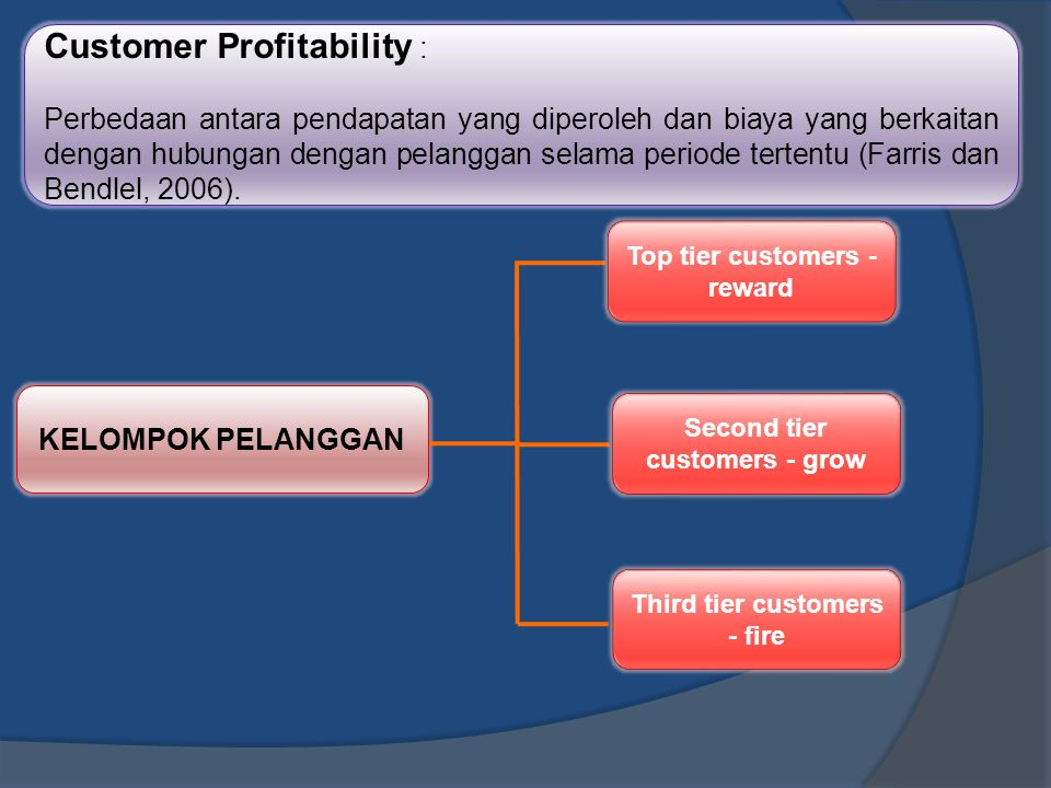 Customer Profitability :