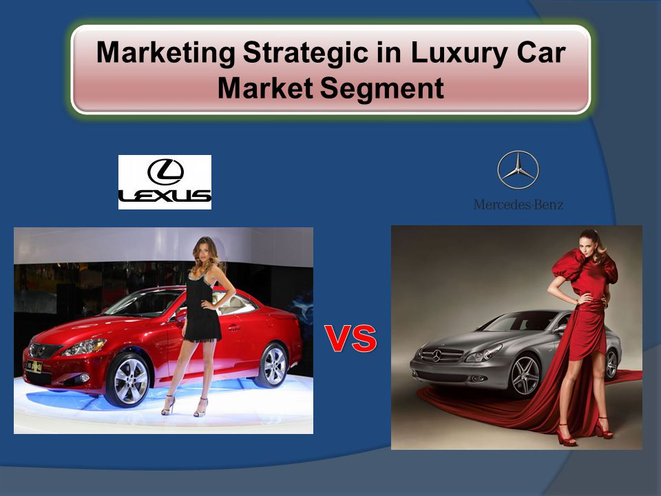 Marketing Strategic in Luxury Car Market Segment