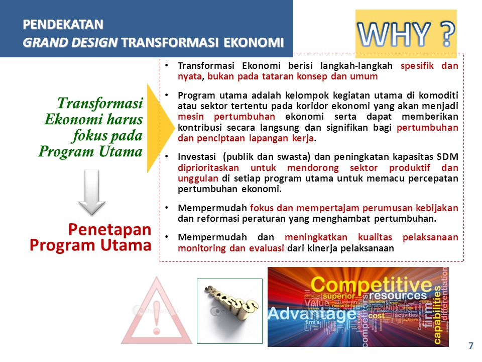 WHY Penetapan Program Utama