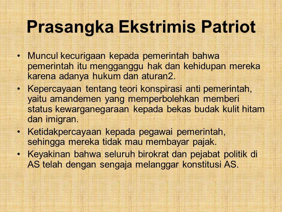 Prasangka Ekstrimis Patriot